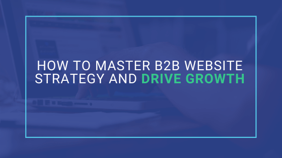 master b2b website strategy