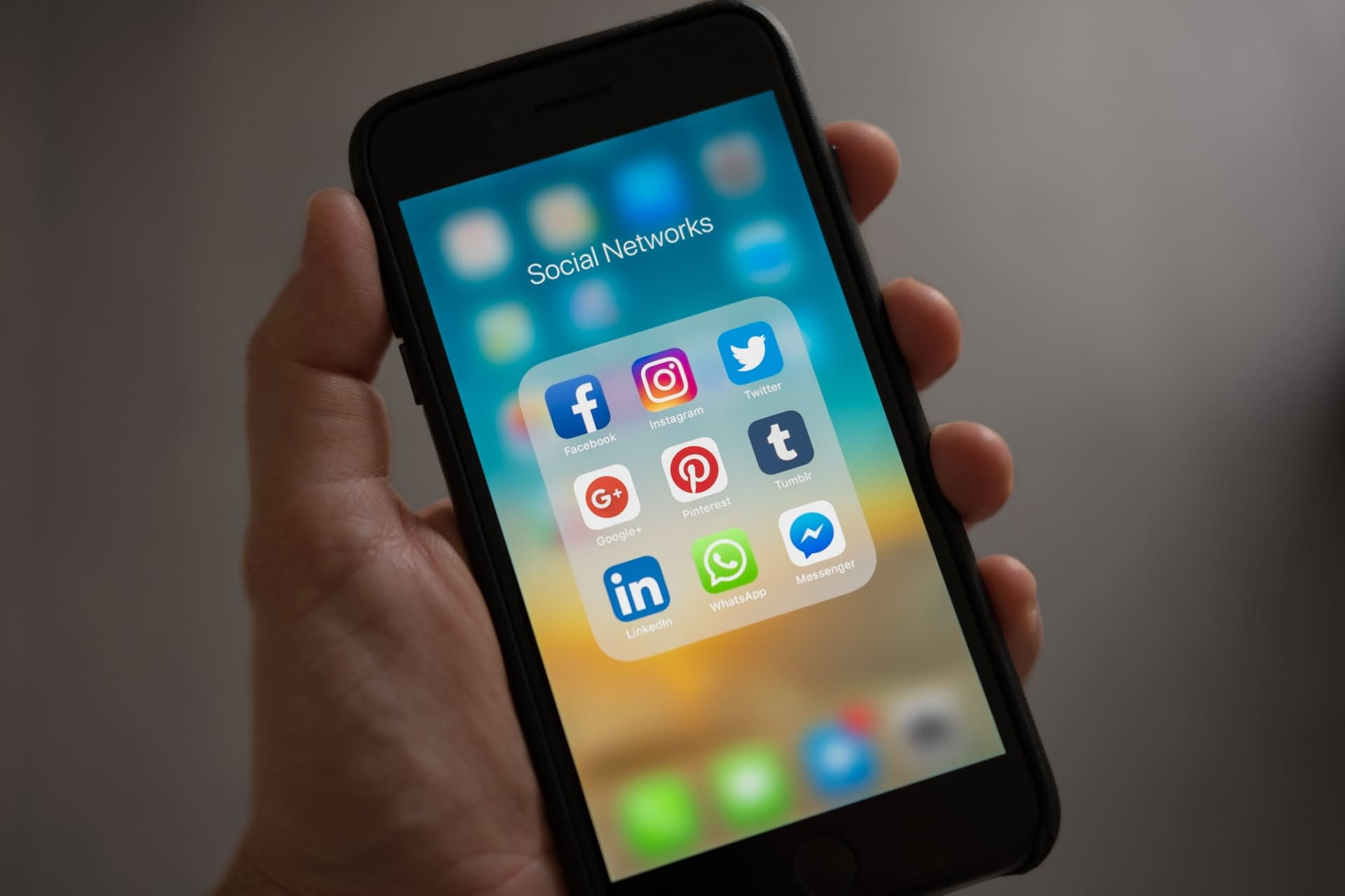 social media for saas