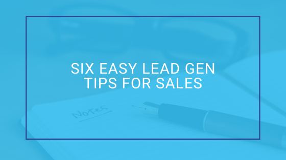 easy lead gen tips