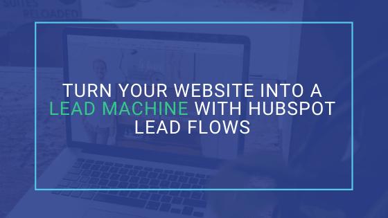 hubspot lead flows blog