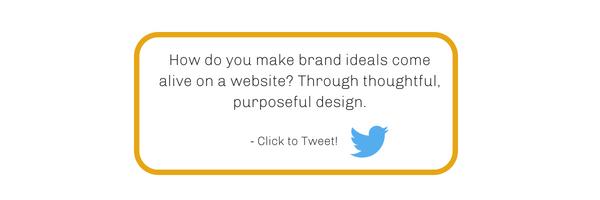 Website Design Click to Tweet