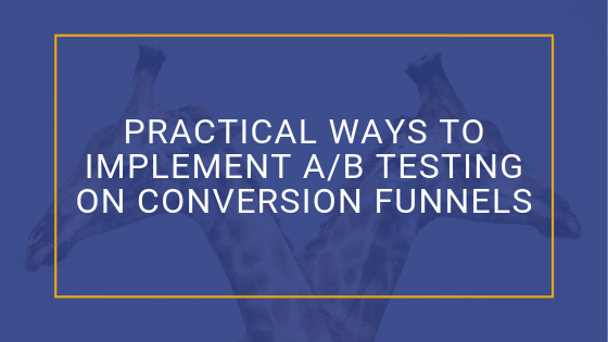 Implement A/B Testing