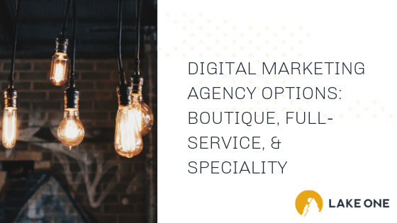 Digital Marketing Agency Options