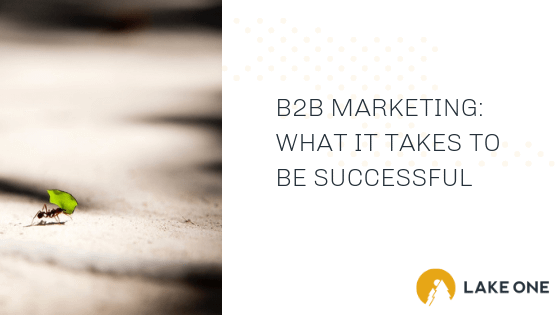 Successful B2B Marketing
