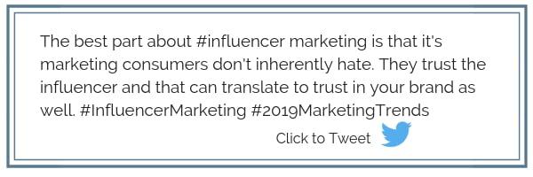 2019 Marketing Trends Click to Tweet