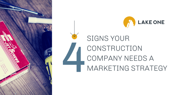 4 signs your construction company