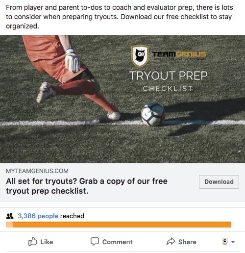 TOFU Social Ads