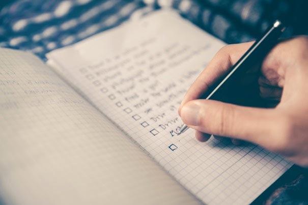 inbound checklist