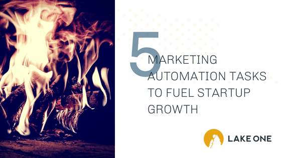 marketing automation tasks to fuel startup growth