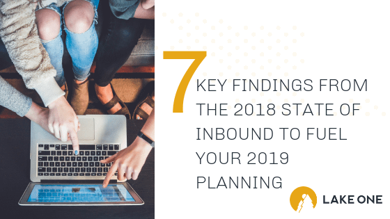 Key Findings from the 2018 State of Inbound