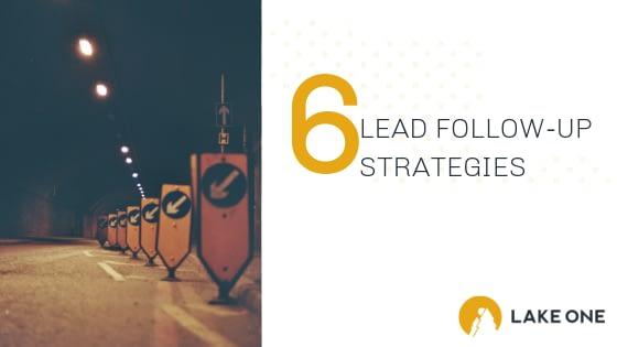 Lead Follow-Up Strategies